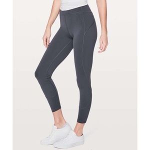 "Lululemon In Movement 7/8 Tight *Everlux 25"" 4"